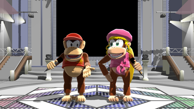 Sing along with the Kongs