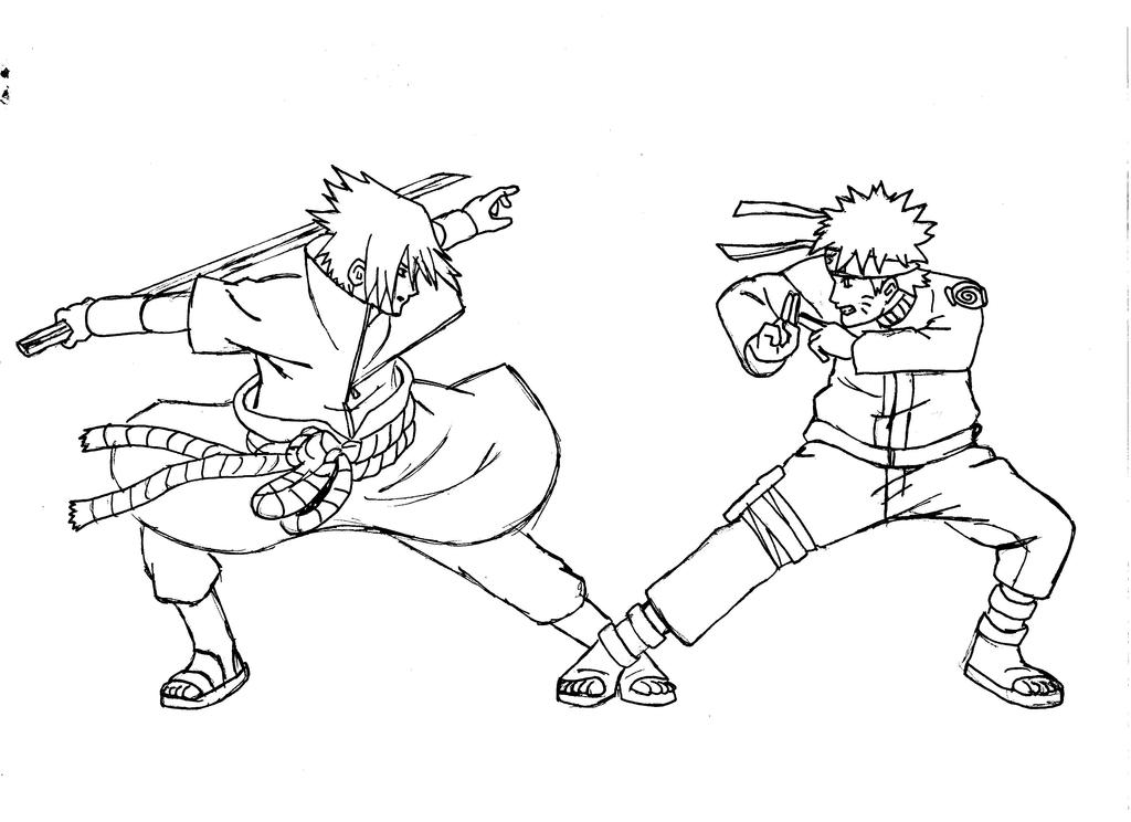 Naruto vs Sasuke Linea...