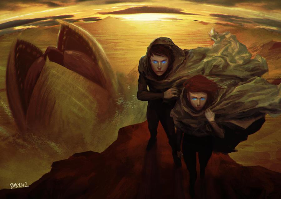 Children of Dune by rcmtrue