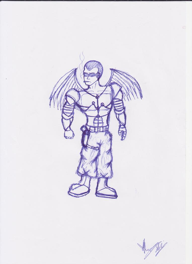 Overdrive 04 - Icarus by Psycho-Werekitsune