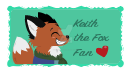 Keith the Fox Fan Stamp by Vulpes-lagopus21