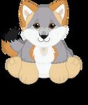 Webkinz Gray Fox