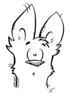 jackal dude guy coloring page by Vulpes-lagopus21