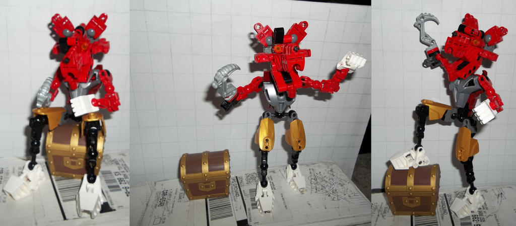 Five Nights At Freddy39s Broken Foxy Papercraft P1 By – Migliori