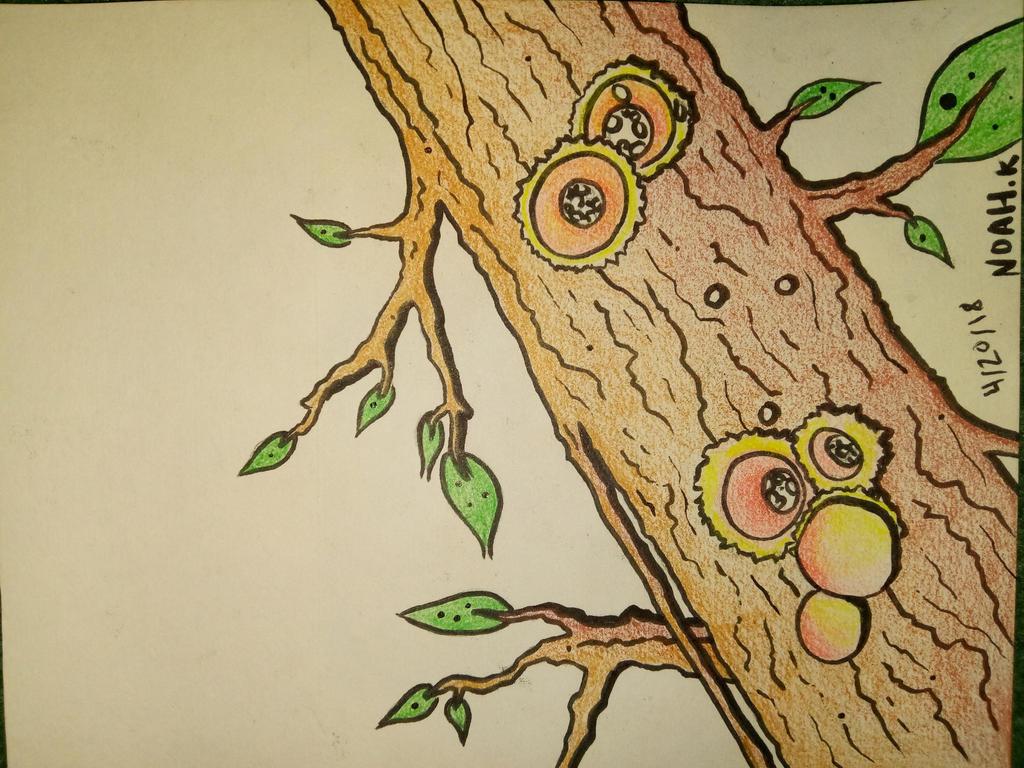 Fungal Branch. by Noah-Kirkpatrick