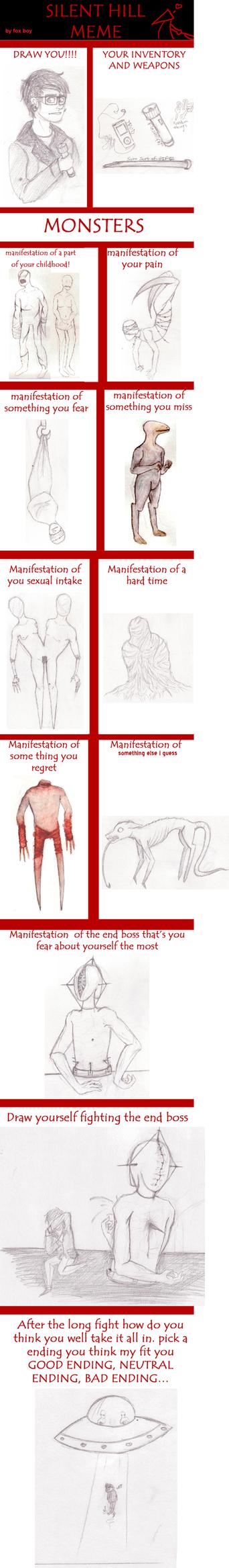 Silent Hill monster meme by bryarcat