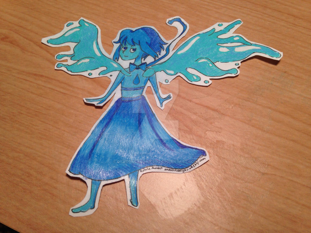 Lapis Lazuli Steven Universe Sticker By DragonSandwiches