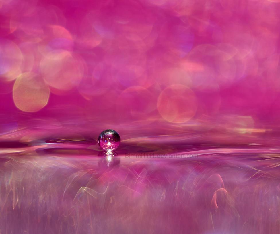 Pink Drop by Bimmi1111