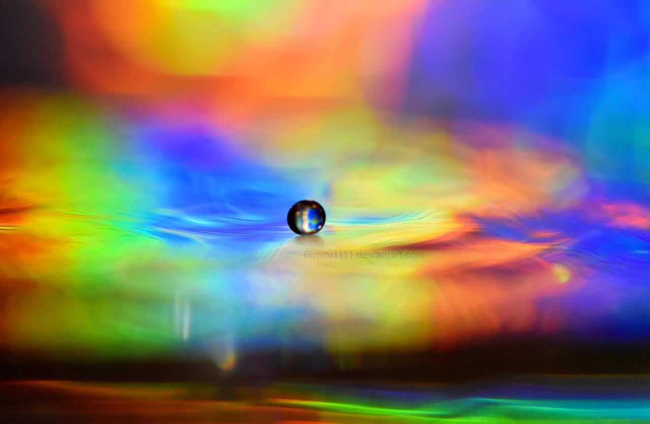 Rainbow Drop by Bimmi1111