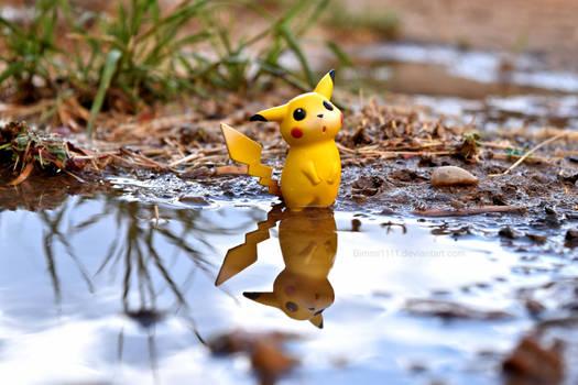 Pikachus Rainy Day II