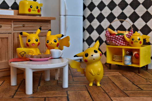 Tea Time for Pika and friends!