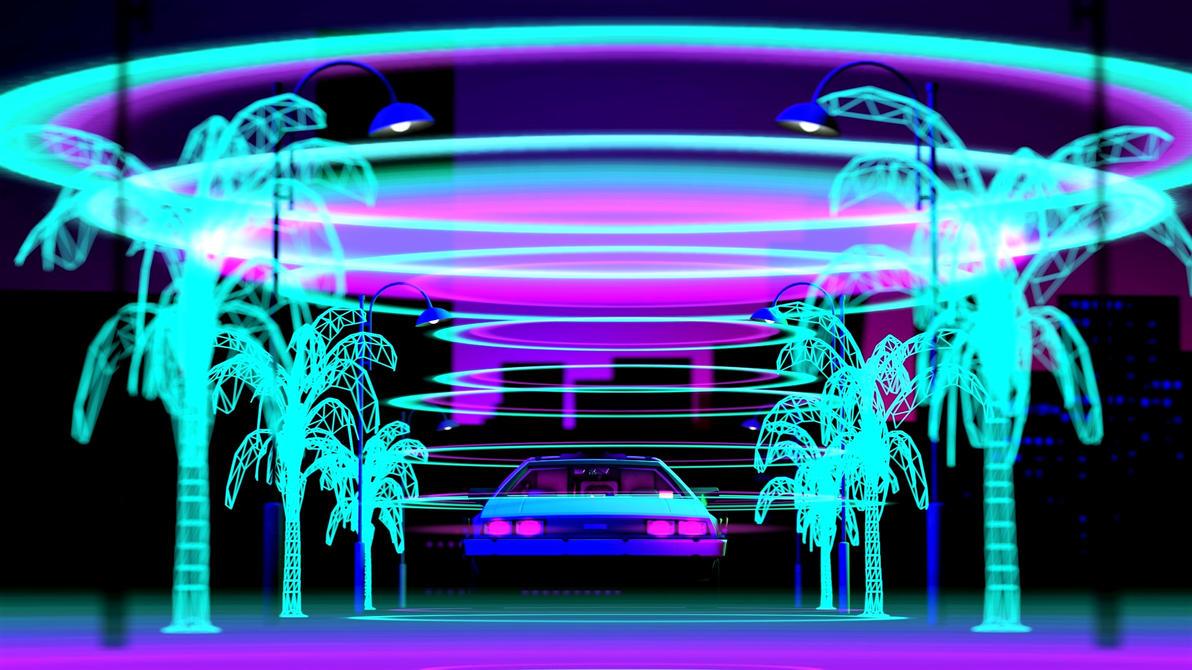 Miami by night 1980's by lolripk on DeviantArt
