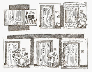 Apartment 319 -1- by A-Terrible-Cartoon