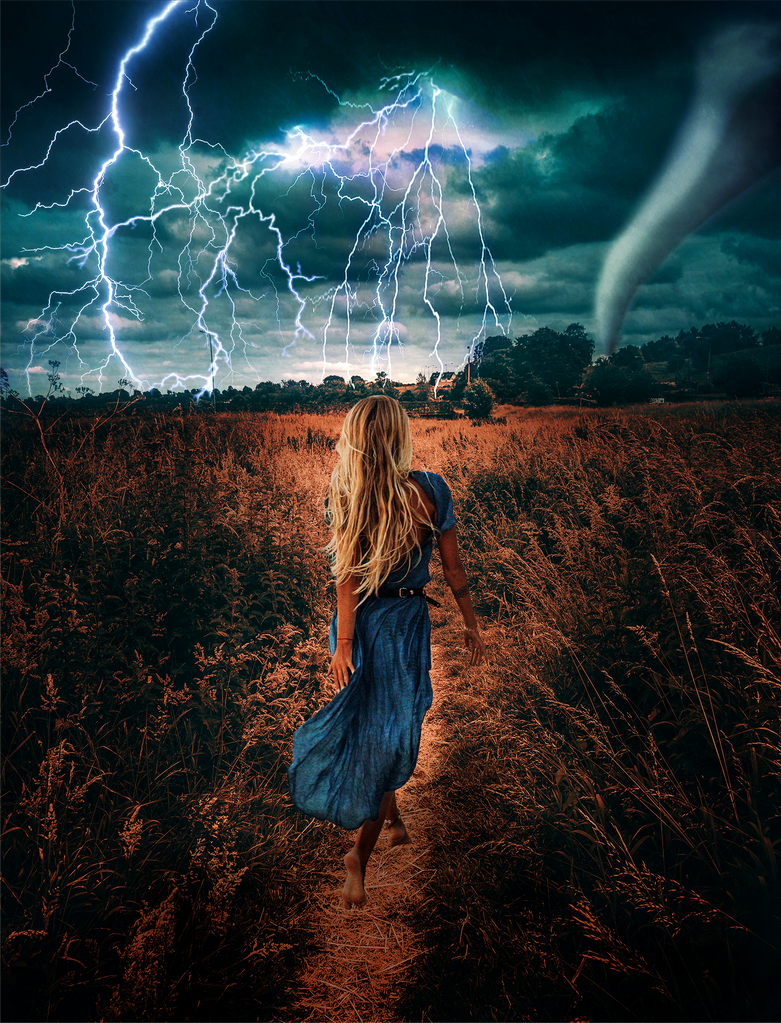 Character Poster - Lightning