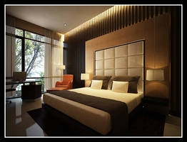 The Zen Bedroom by Yvesanty