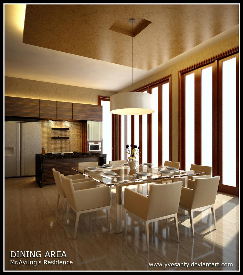 dining area by yvesanty on deviantart