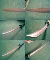 New Sakabatou Blade by Karumaru
