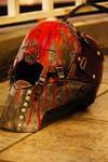 DWL - Red Man Helmet 01