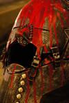 DWL - Red Man Helmet 02