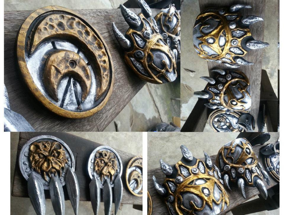 Broll Bearmantle Accessories by Karumaru