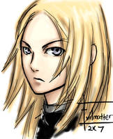 Miria, Claymore fanart by Evilmatter
