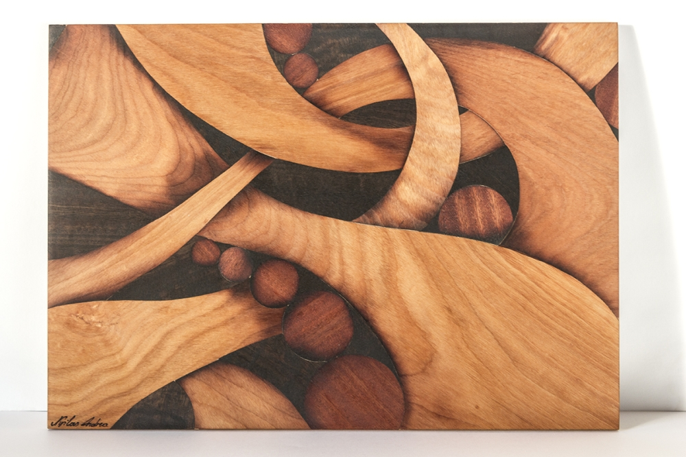Abstract marquetry by Andulino