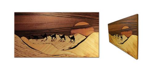 Desert marquetry upgrade by Andulino