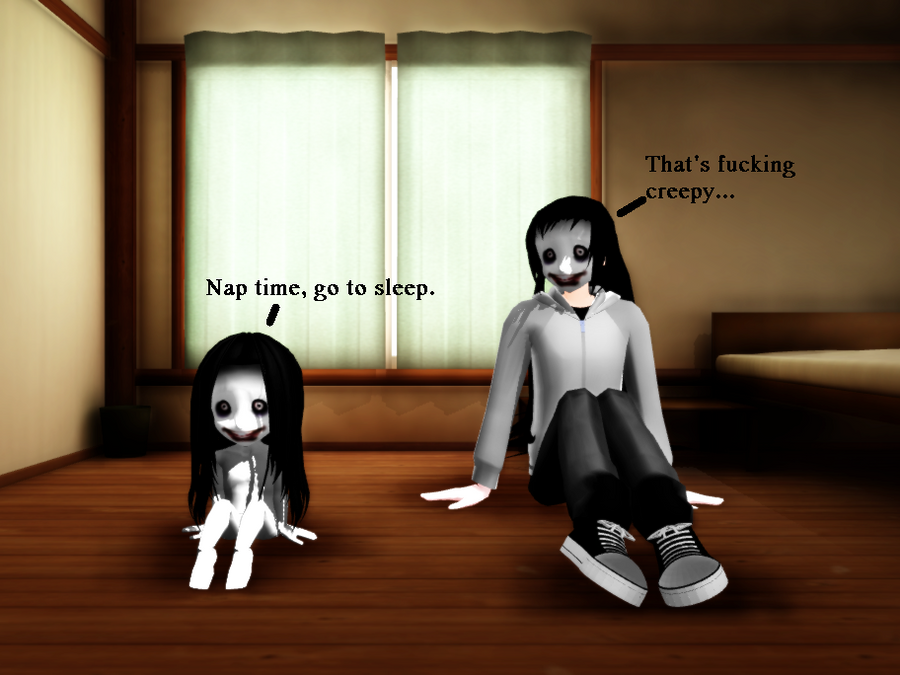 Jeff The Killer And Jane The Killer Have A Baby