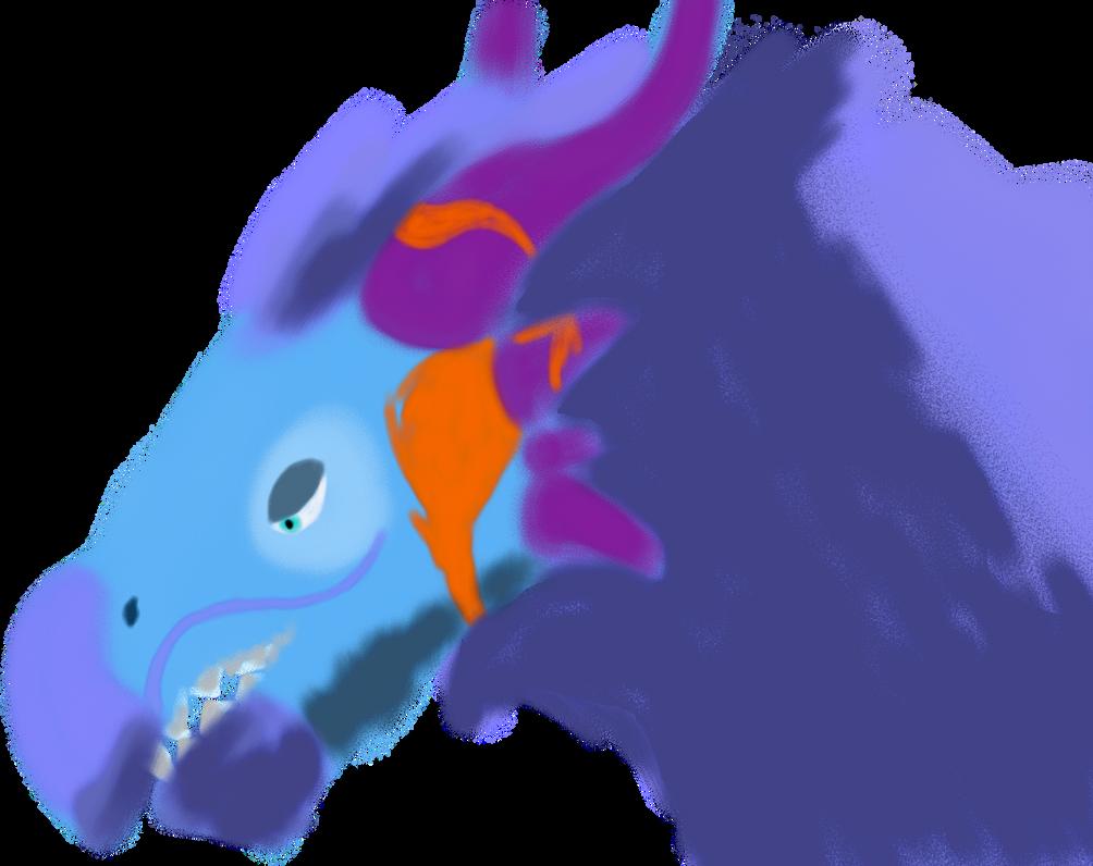 Ticco - dragon from DD by ArhereArtPL