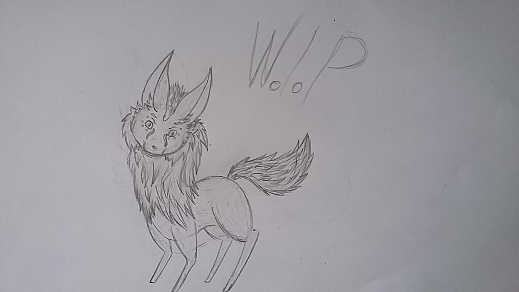 Work In Progress - Wolf by ArhereArtPL