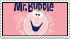 Mr. bubble stamp
