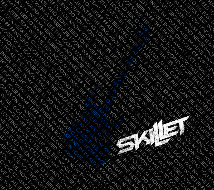 Skillet Lyric Wallpaper For The DROID 3 By Thicktown