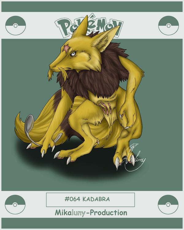 Realistic Kadabra PokemonProject - Kadab...