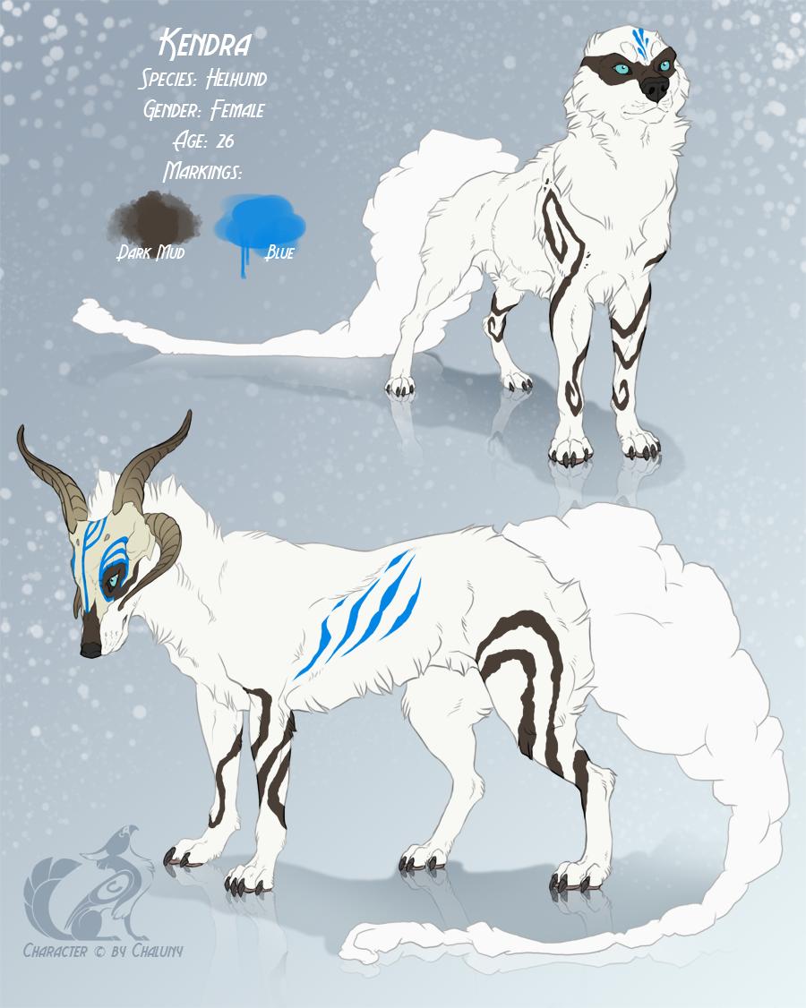 CS - Kendra the Helhund by Chaluny