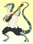 Chara design - Lizard