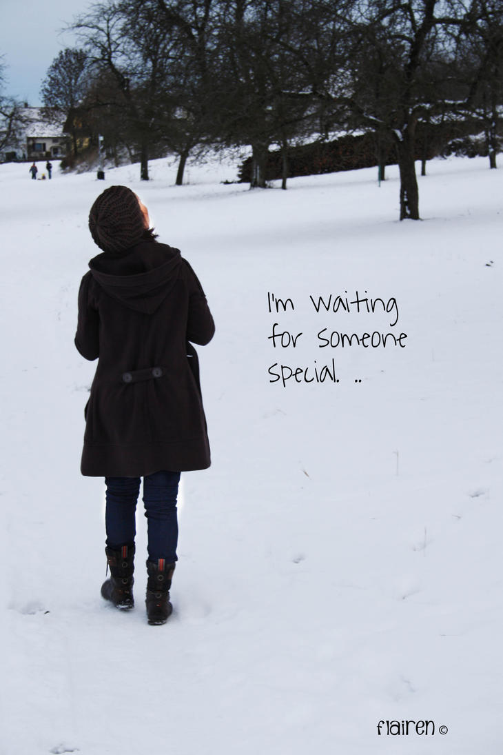 waiting for someone special by Flairen on DeviantArt