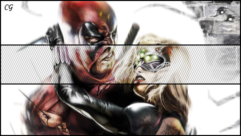 The gallery for --> Deadpool And Domino Kiss