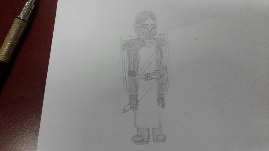 Knight scrap #1 by PaladinCurse