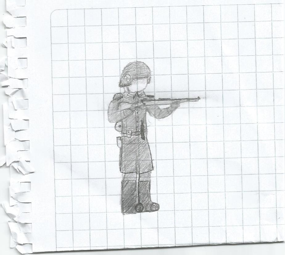 German Soldier by PaladinCurse