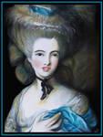 - Lady in Blue-