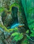 Lizard by aldafea