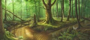 Heart Of Woods By Aldafea