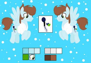 MLP : Oc : Sora : reference sheet by PastelLight3