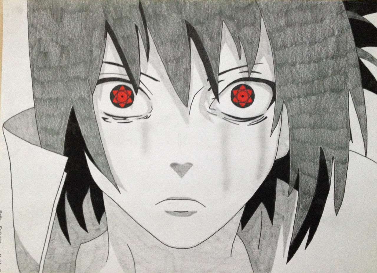 Uchiha Sasuke - Mangekyou Sharingan by M200ALN on DeviantArt