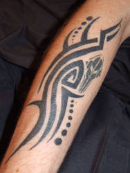 Tribal Swirls, finished
