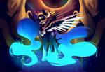 nightmare moon  daybreaker fusion