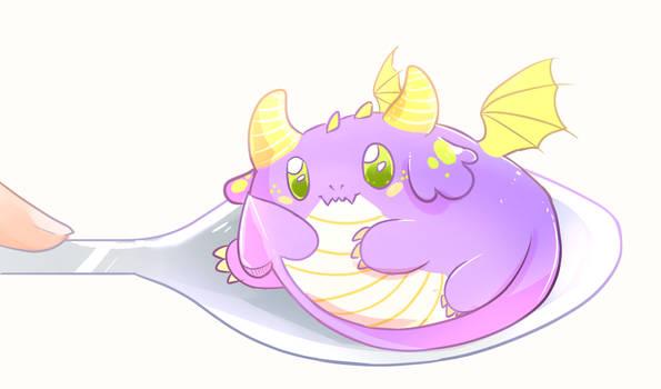 [ych] a purpol drago