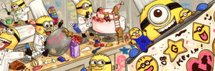 Cookie Minions Come to Life! Baking Madness
