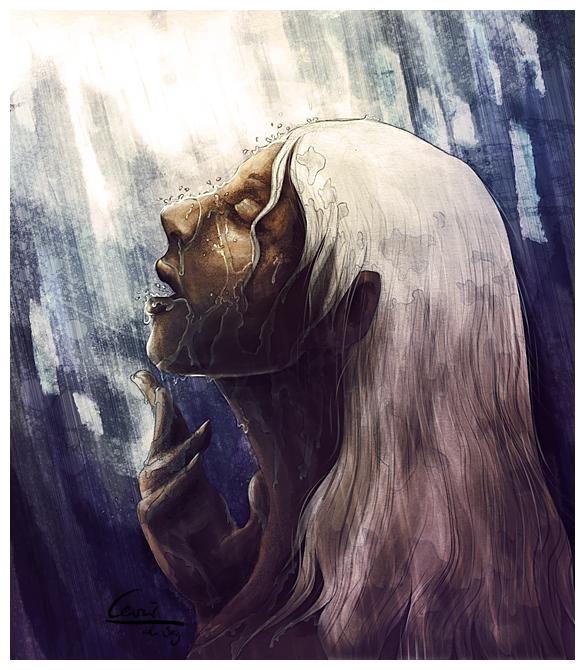 Rain by cevier