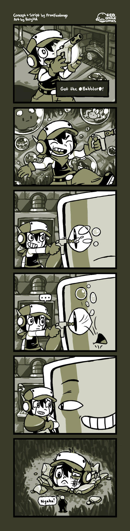 A Cave Story by RedWhaleComics